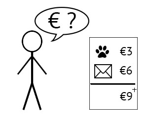 uitbeelding van tool: prijsindicatie vragen